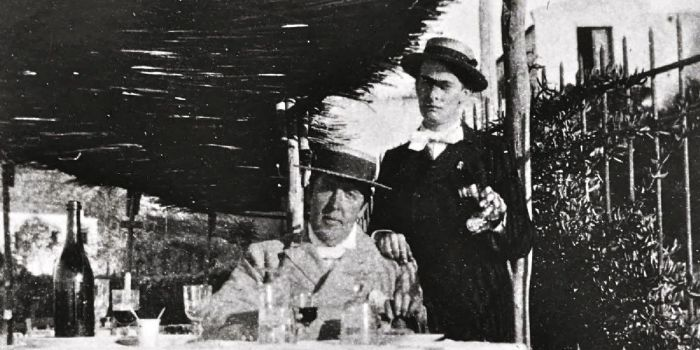 oscar and bosie in naples 2