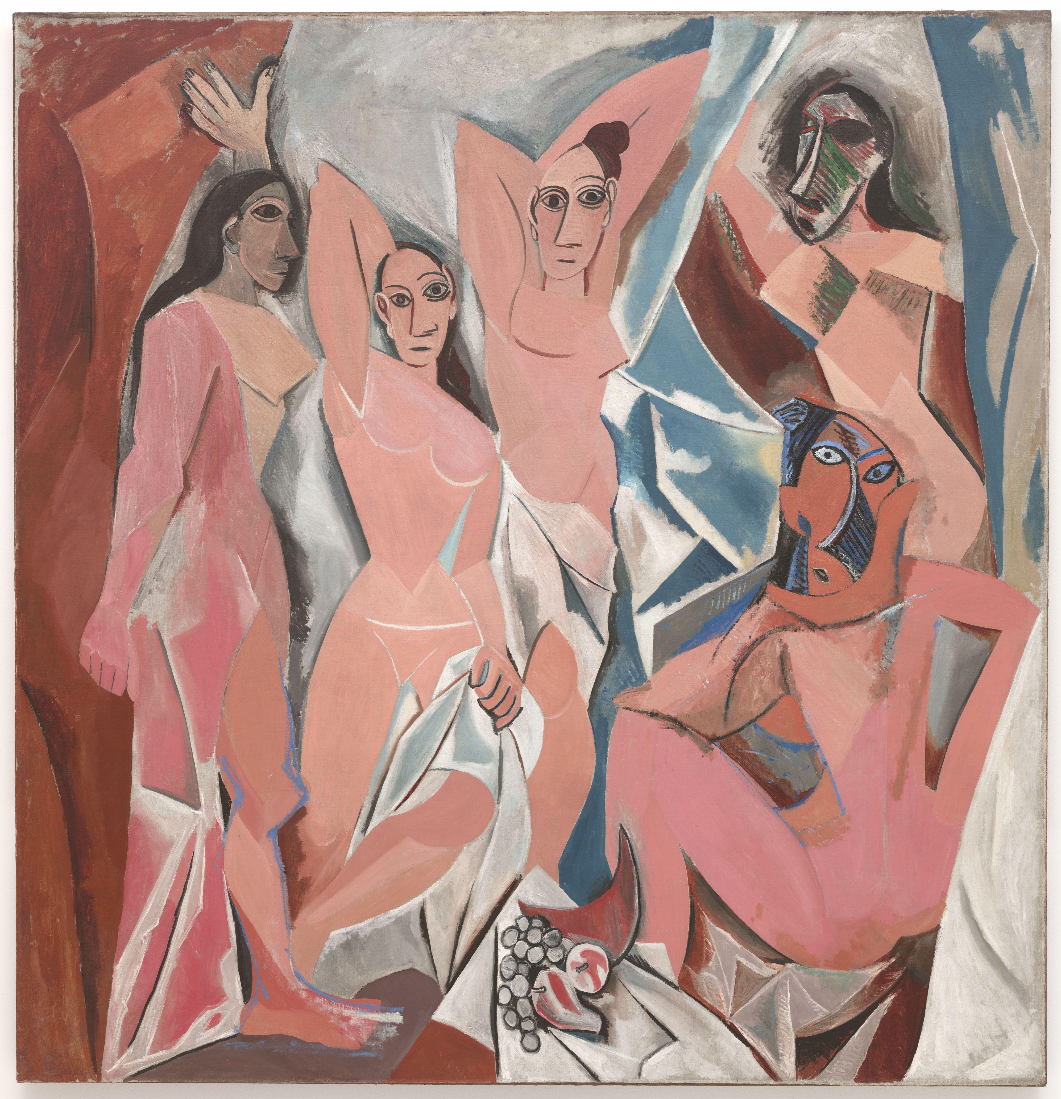 Picasso - Les_Demoiselles_d'Avignon