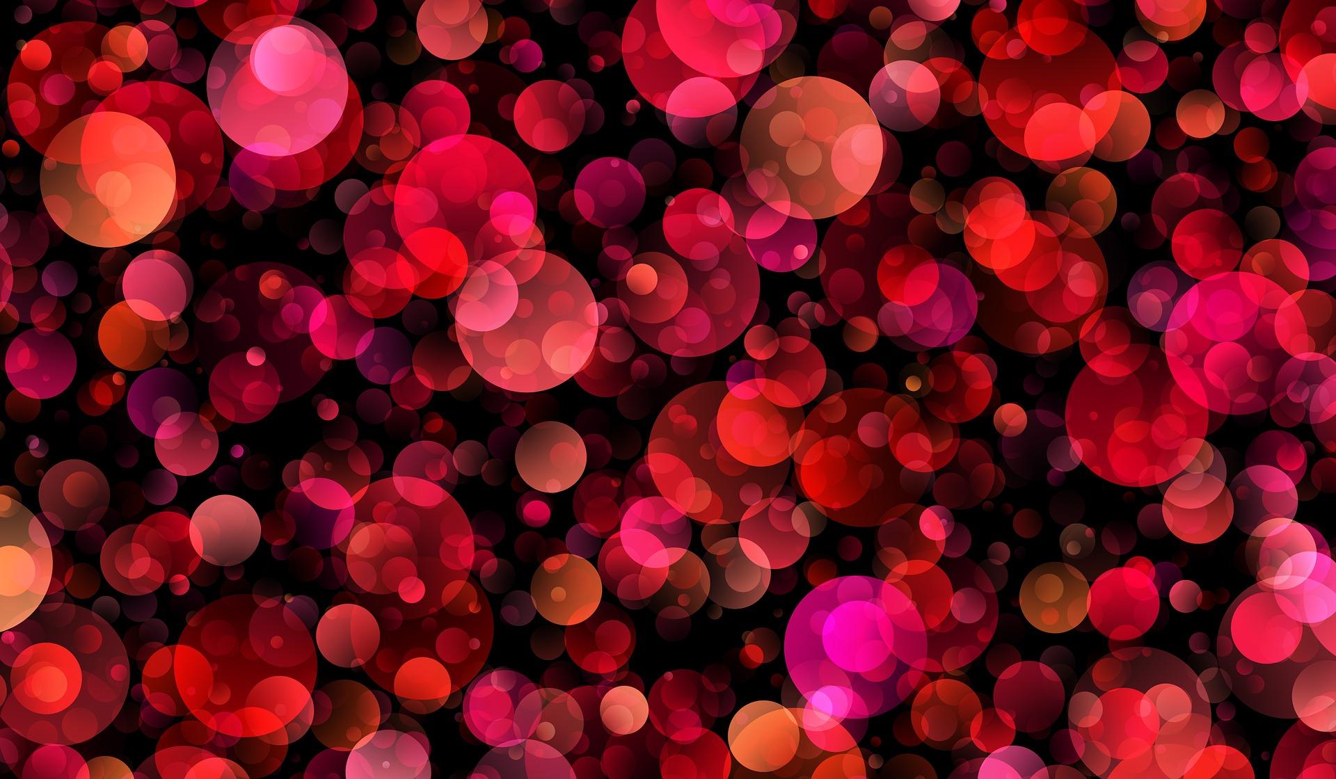 red purple dots pixabay photo